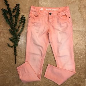 Mossimo skinny Jeans ombré size 3